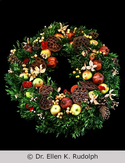 The 'della Robbia' Style Wreaths of